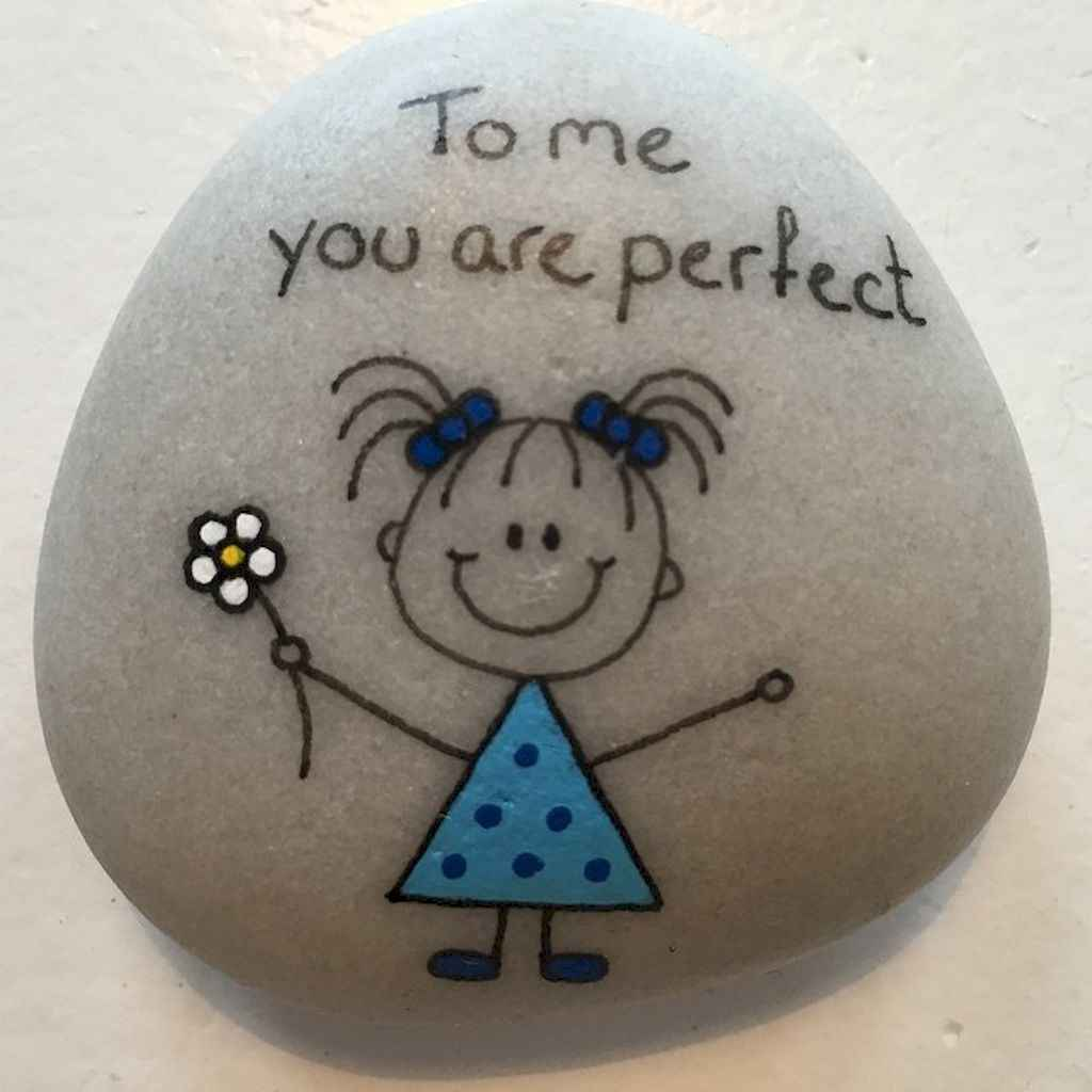 50 DIY Painted Rock Ideas for Your Home Decoration (8)