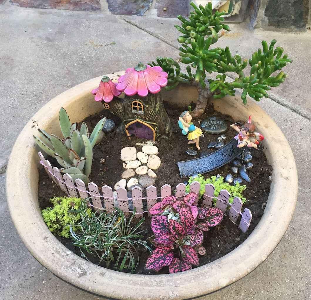 50 Easy DIY Fairy Garden Design Ideas (14)