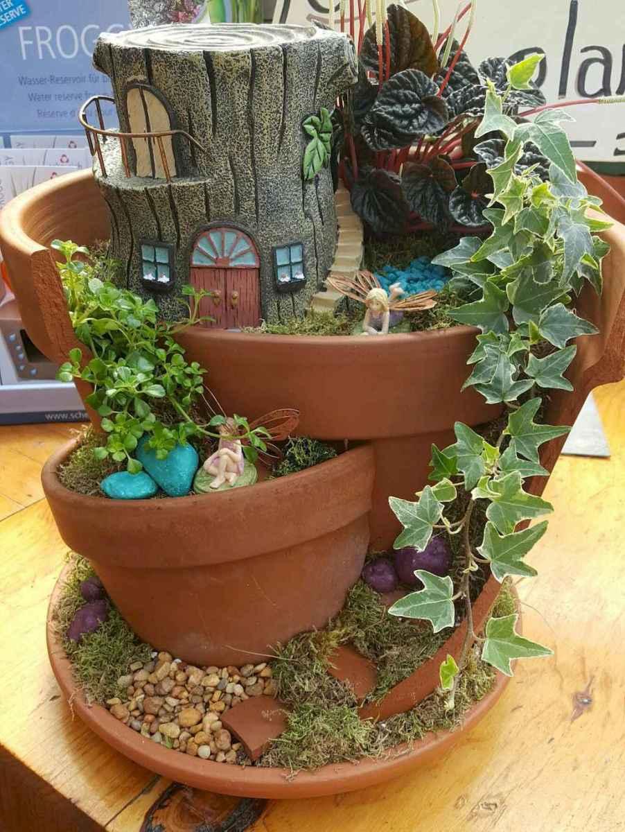 50 Easy DIY Fairy Garden Design Ideas (3)