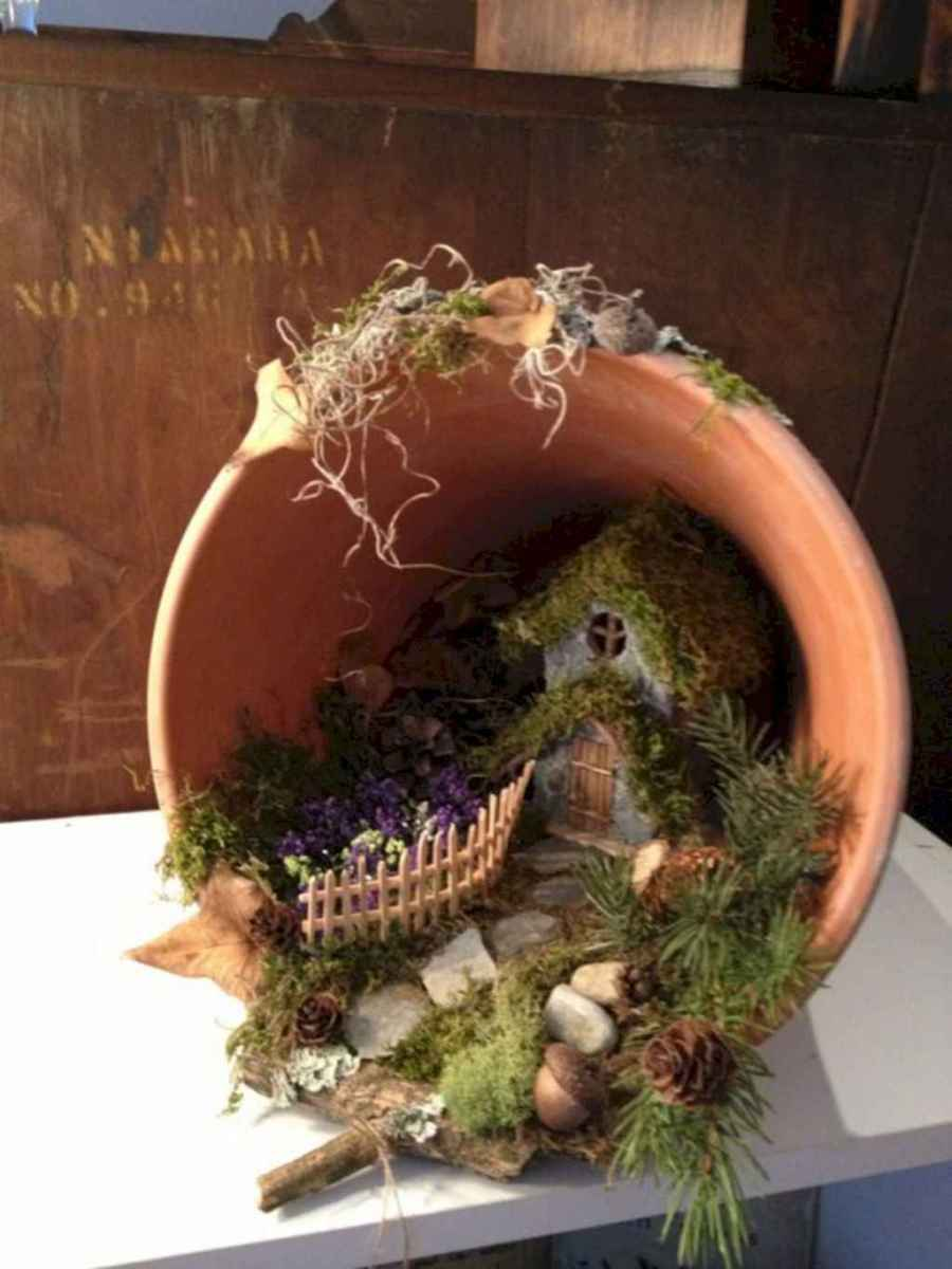 50 Easy DIY Fairy Garden Design Ideas (4)
