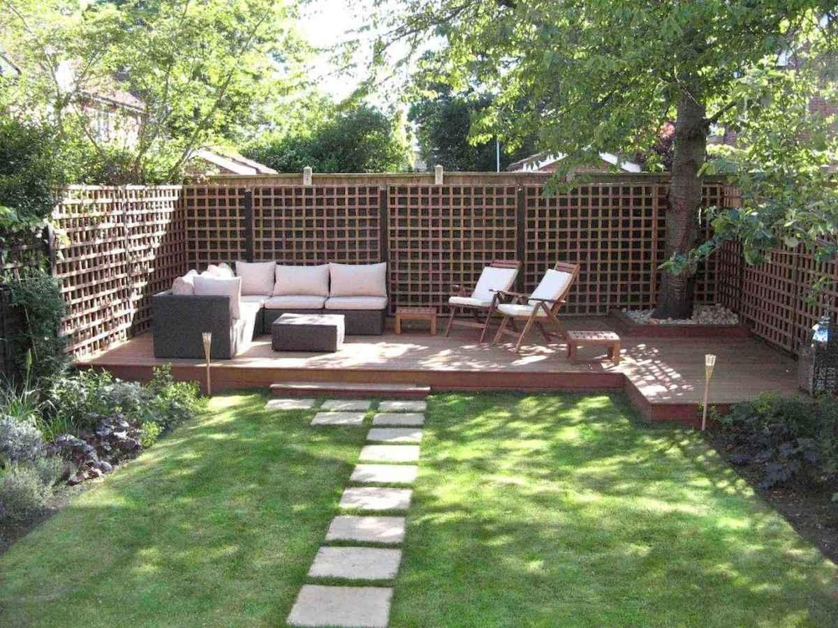 60 Fresh Backyard Landscaping Design Ideas on A Budget (10)