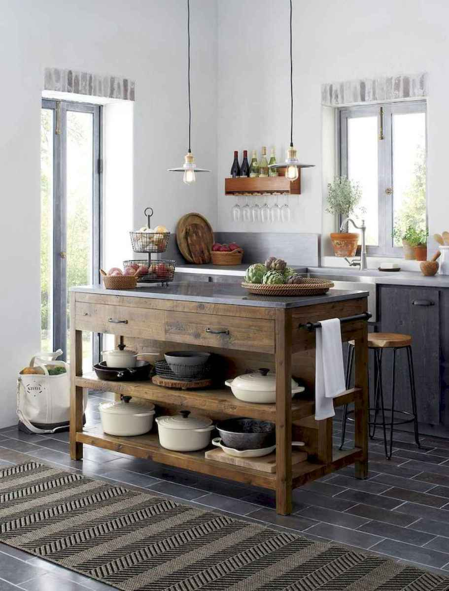 60 Inspiring Rustic Kitchen Decorating Ideas (36)