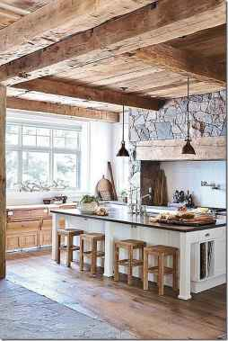 60 Inspiring Rustic Kitchen Decorating Ideas (38)