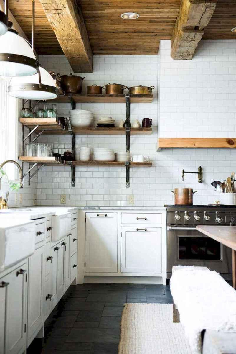 60 Inspiring Rustic Kitchen Decorating Ideas (43)