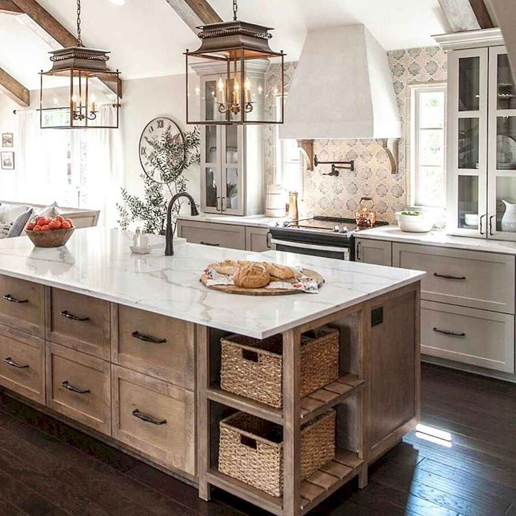 60 Inspiring Rustic Kitchen Decorating Ideas (49)
