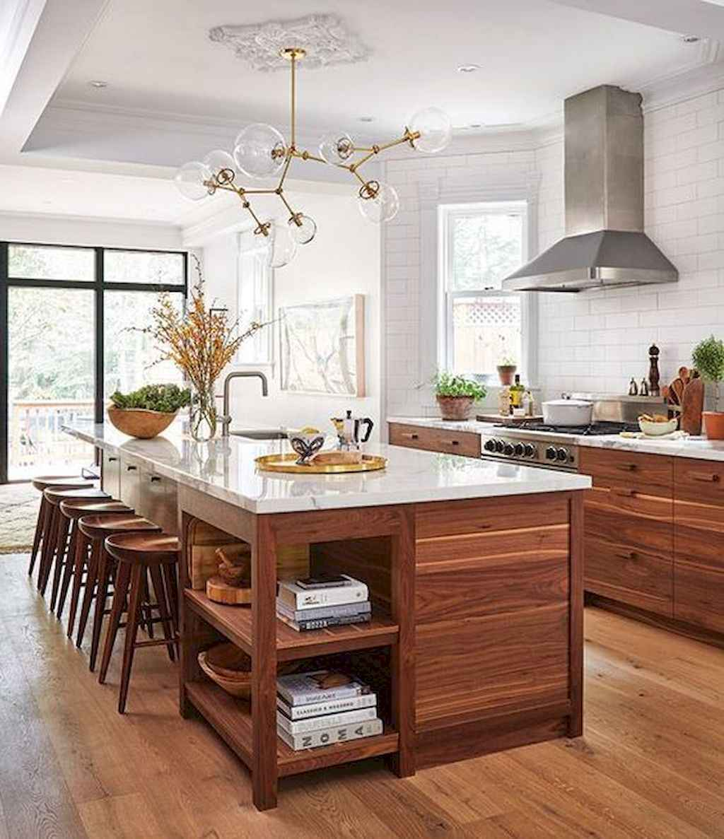 60 Inspiring Rustic Kitchen Decorating Ideas (55)