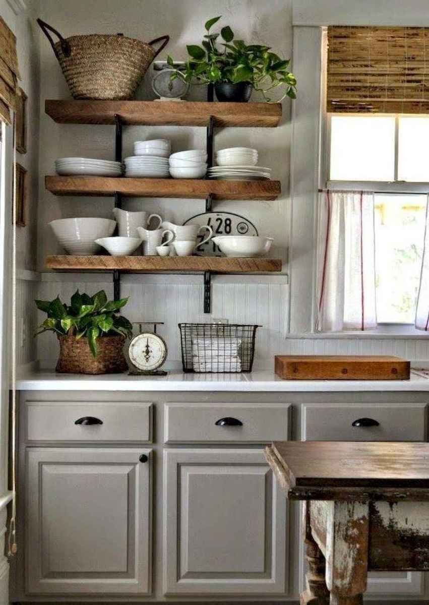 60 Inspiring Rustic Kitchen Decorating Ideas (60)