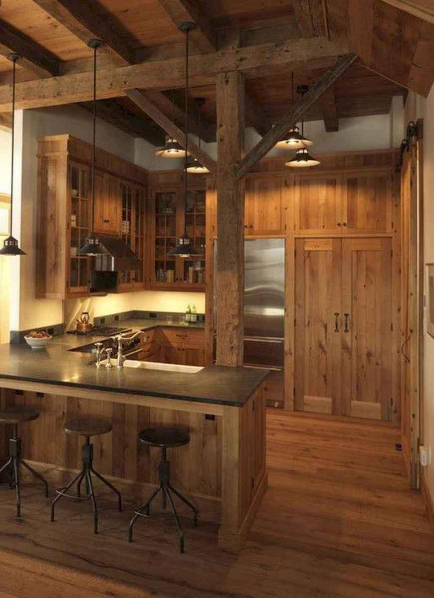 60 Inspiring Rustic Kitchen Decorating Ideas (9)