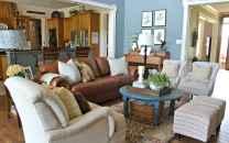 60 Modern Farmhouse Living Room First Apartment Ideas (22)
