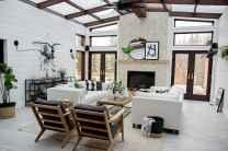 60 Modern Farmhouse Living Room First Apartment Ideas (23)