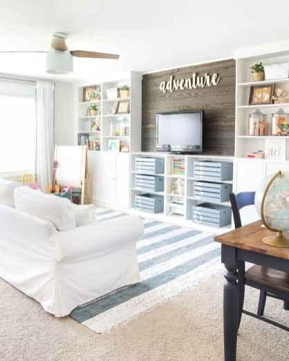 60 Modern Farmhouse Living Room First Apartment Ideas (36)