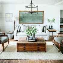 60 Modern Farmhouse Living Room First Apartment Ideas (54)