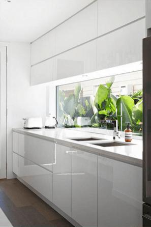 100 Beautiful Kitchen Window Design Ideas (90)