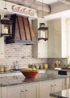 120 Modern Rustic Farmhouse Kitchen Decor Ideas (110)