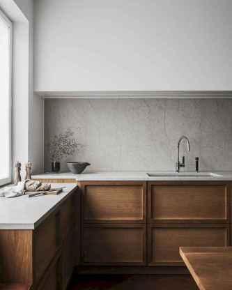 120 Modern Rustic Farmhouse Kitchen Decor Ideas (111)