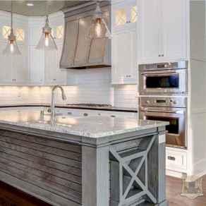 120 Modern Rustic Farmhouse Kitchen Decor Ideas (112)