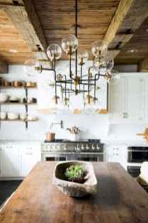 120 Modern Rustic Farmhouse Kitchen Decor Ideas (115)