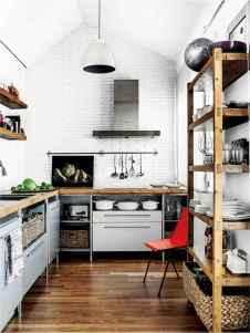 120 Modern Rustic Farmhouse Kitchen Decor Ideas (22)