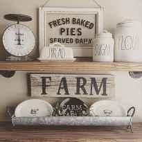 120 Modern Rustic Farmhouse Kitchen Decor Ideas (41)