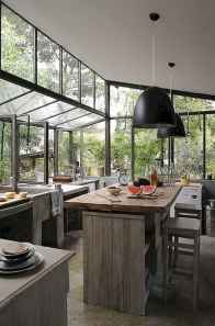 120 Modern Rustic Farmhouse Kitchen Decor Ideas (51)