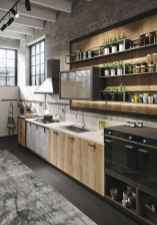 120 Modern Rustic Farmhouse Kitchen Decor Ideas (70)