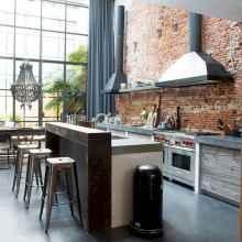 120 Modern Rustic Farmhouse Kitchen Decor Ideas (80)