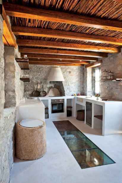 120 Modern Rustic Farmhouse Kitchen Decor Ideas (83)