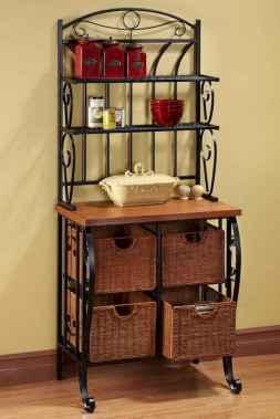50 Smart Solution Standing Rack Kitchen Decor Ideas (24)