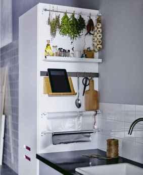 50 Smart Solution Standing Rack Kitchen Decor Ideas (6)