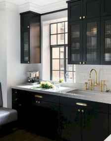 60 Black Kitchen Cabinets Design Ideas (24)