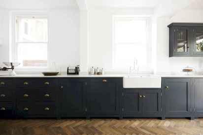 60 Black Kitchen Cabinets Design Ideas (28)