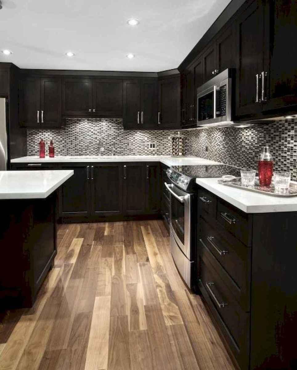 60 Black Kitchen Cabinets Design Ideas (34)