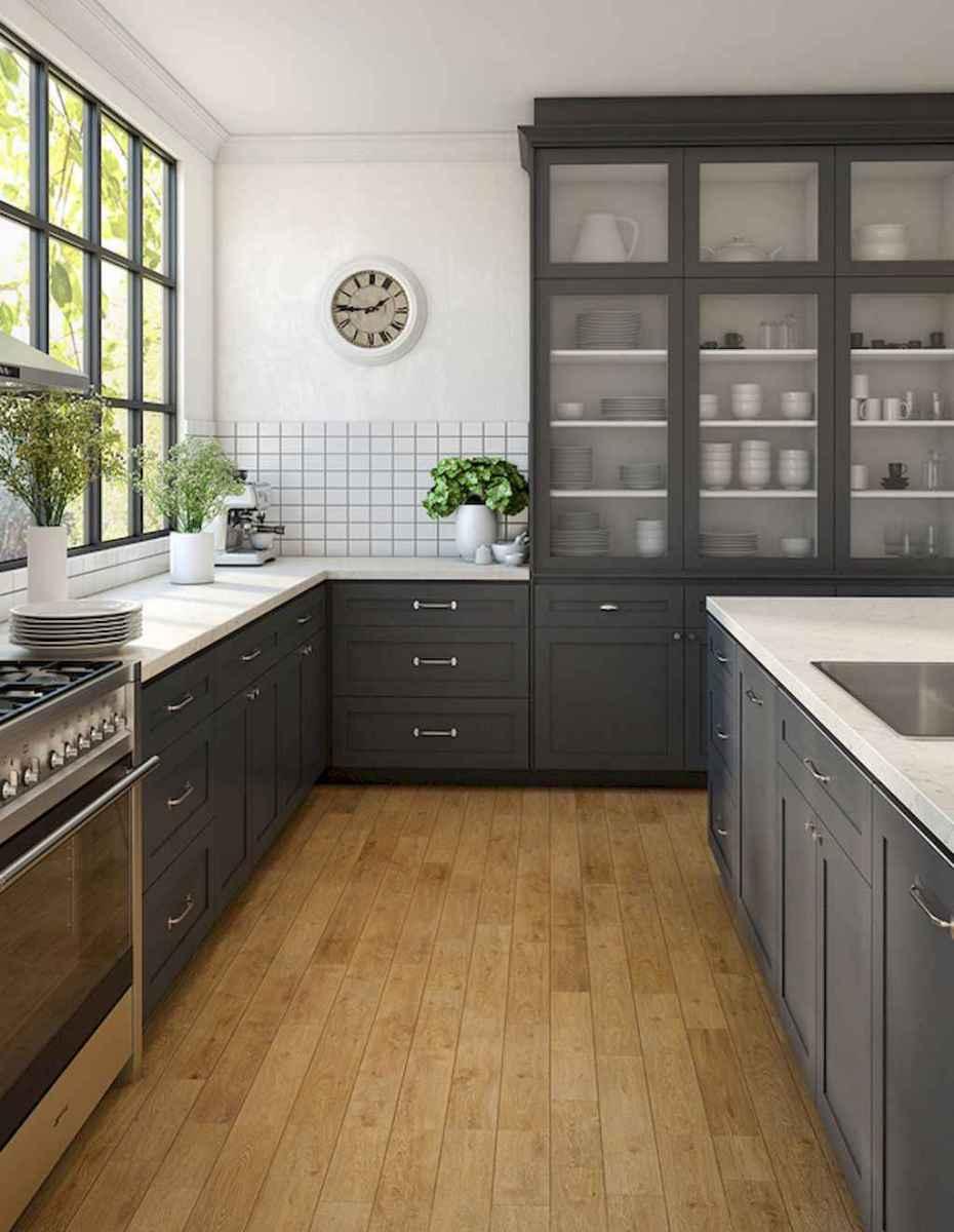 60 Black Kitchen Cabinets Design Ideas (47)