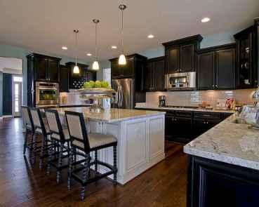 60 Black Kitchen Cabinets Design Ideas (61)