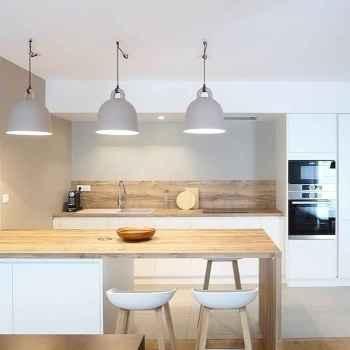 60 Glamorous Scandinavian Kitchen Decor Ideas (12)