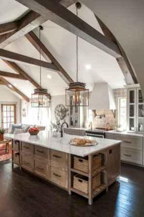 70 Beautiful Modern Farmhouse Kitchen Decor Ideas (26)