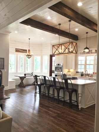 70 Beautiful Modern Farmhouse Kitchen Decor Ideas (67)