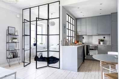 70 Brilliant Small Apartment Kitchen Decor Ideas (10)