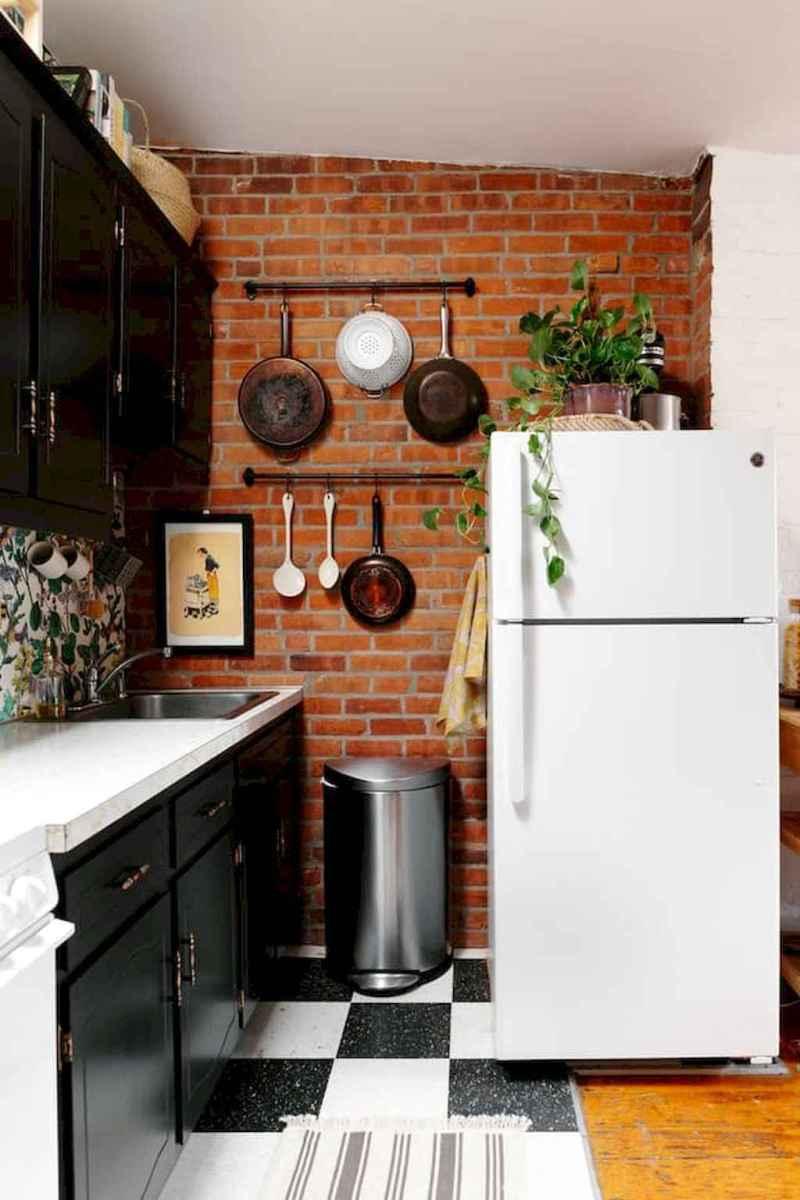 70 Brilliant Small Apartment Kitchen Decor Ideas (15 ...
