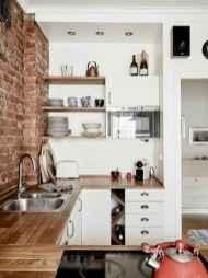 70 Brilliant Small Apartment Kitchen Decor Ideas (20)