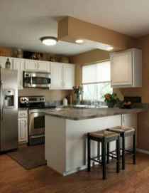 70 Brilliant Small Apartment Kitchen Decor Ideas (33)