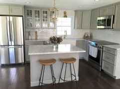 70 Brilliant Small Apartment Kitchen Decor Ideas (50)