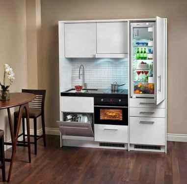 70 Brilliant Small Apartment Kitchen Decor Ideas (54)