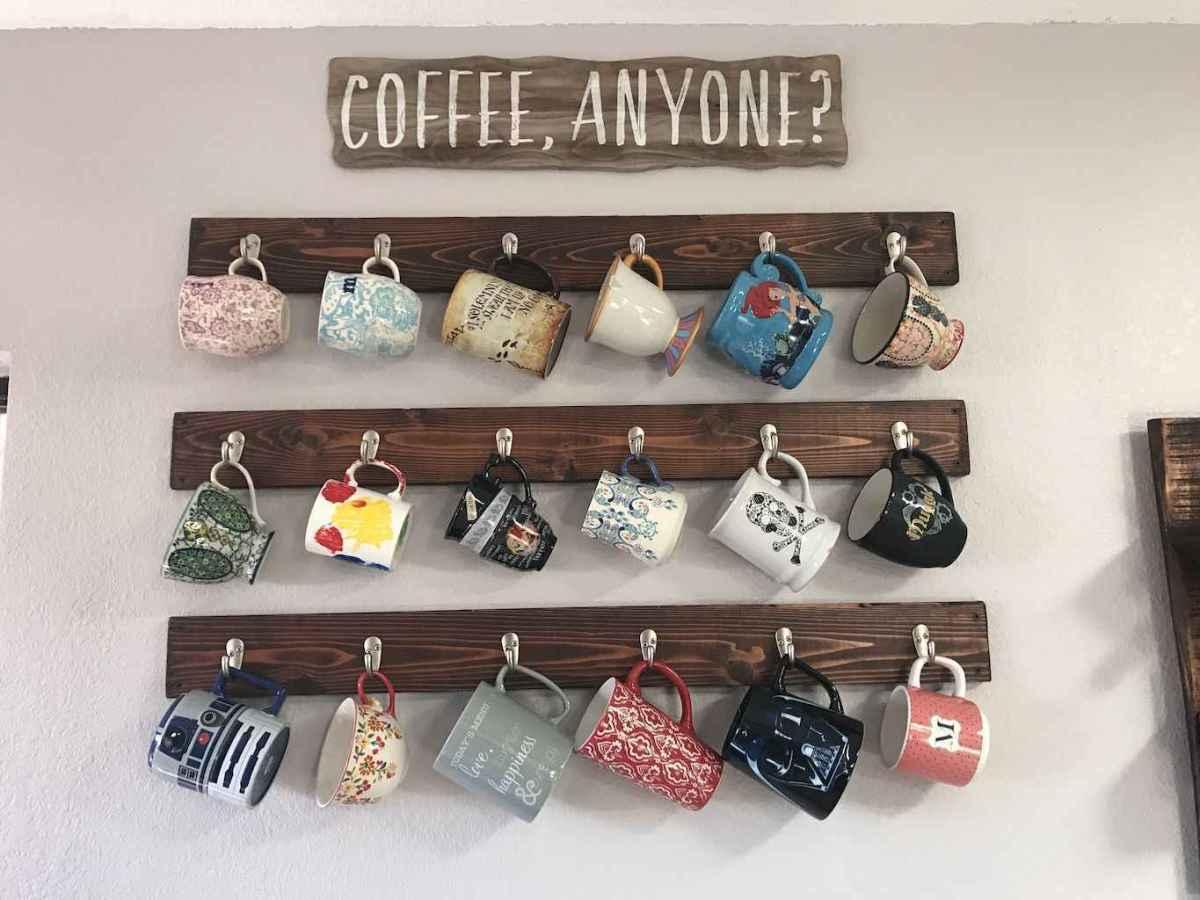 80 Incredible Hanging Rack Kitchen Decor Ideas (63)