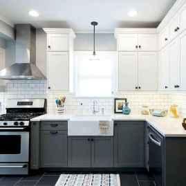 100 Supreme White Kitchen Cabinets Decor Ideas For Farmhouse Style Design (12)