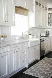 100 Supreme White Kitchen Cabinets Decor Ideas For Farmhouse Style Design (13)