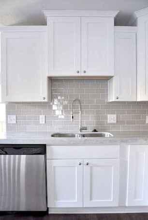 100 Supreme White Kitchen Cabinets Decor Ideas For Farmhouse Style Design (15)