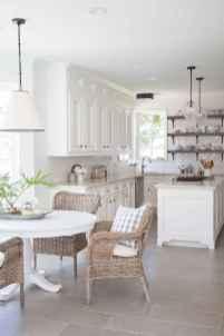 100 Supreme White Kitchen Cabinets Decor Ideas For Farmhouse Style Design (24)