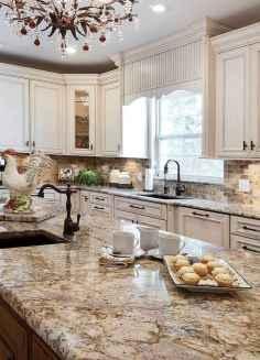 100 Supreme White Kitchen Cabinets Decor Ideas For Farmhouse Style Design (90)