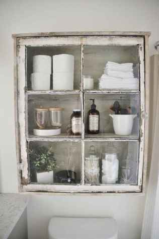 110 Supreme Farmhouse Bathroom Decor Ideas (51)
